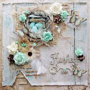 Embossing Pulver - Blue Fern Studio - Oatmeal