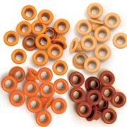 Öljetter Eyelets 60-pack - Orange