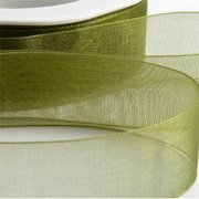 Band Organza 15mm - Moss