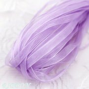 Band Organza på rulle 6mm - 10m - Lilac
