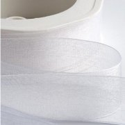 Band Organza 15mm - White