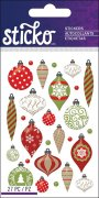Epoxy Mini Stickers Sticko - Christmas Ornaments - 27 delar