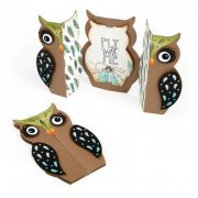 Sizzix Thinlits Die - Owl Fold-A-Long Card