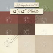 Palette Pion Design 12x12 - Cardstock Paket - Greetings from the North Pole