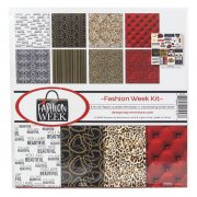 Paper Kit Reminisce - Fashion Week - 12x12 Tum