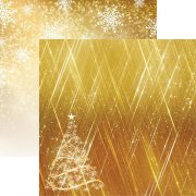 Papper Reminisce - Gold Christmas - Oh Christmas Tree