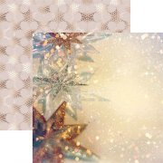 Papper Reminisce - Gold Christmas - Starry Christmas