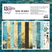 Paper Pack 13 Arts - Travel the World - 12x12 Tum