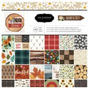 Paper Pack American Craft - Warm & Cosy