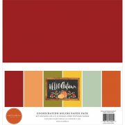 Paper Pack Carta Bella - Hello Autumn - Solids