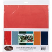Paper Pack Carta Bella - Summer Camp - Solids