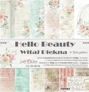 Paper Pack Craft Clock - Hello Beauty - 12x12 Tum