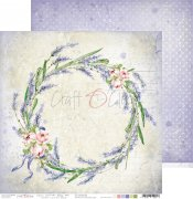 Papper Craft o Clock - Lavender Bliss 06