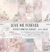 Paper Pack Craft o Clock - Love me Forever - 12x12 Tum