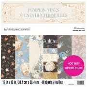 Paper Pack Craft Smith - Pumpkin Vines - 12x12 Tum
