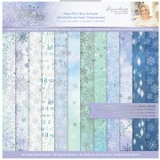 Paper Pack Crafter´s Companion - Glittering Snowflakes - 12x12 Tum
