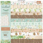 Paper Pack Crafter's Companion - Woodland Friends - 12x12 Tum