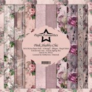 Paper Pack Dixi Craft - Pink Shabby Chic
