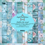 Paper Pack Dixi Craft - Shabby Chic Wood