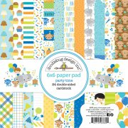 Paper Pack Doodlebug - Party Time - 6x6 Tum