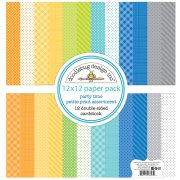 Paper Pack Doodlebug - Party Time - Petite Prints