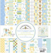 Paper Pack Doodlebug - Special Delivery - 12x12 Tum