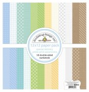 Paper Pack Doodlebug - Special Delivery - Petite Print