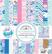 Paper Pack Doodlebug - Winter Wonderland - 12x12 Tum