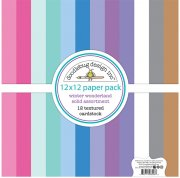 Paper Pack Doodlebug - Winter Wonderland - Solids