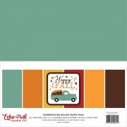 Paper Pack Echo Park - Happy Fall - Solids