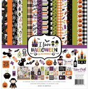 Paper Pack Echo Park - I Love Halloween - 12x12 Tum