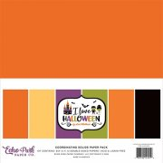 Paper Pack Echo Park - I Love Halloween - Solids