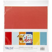 Paper Pack Echo Park - I Love my Dogs - Solids