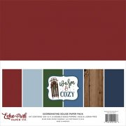 Paper Pack Echo Park - Warm & Cozy - Coordinating Solids