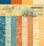 Paper Pack Graphic 45 - Dreamland Patterns & Solids