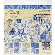 Paper Pack Graphic 45 - Ocean Blue