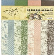 Paper Pack Graphic 45 - Woodland Friends - Pattern & Solids