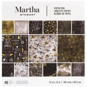 Paper Pack Martha Stewart - Black & Gold