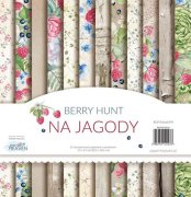 Paper Pack Paper Heaven - Berry Hunt - 12 x 12 Tum