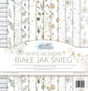 Paper Pack Paper Heaven - White As Snow - 12x12 Tum