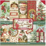 Paper Pack Stamperia - Classic Christmas - 12x12 Tum