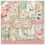 Paper Pack Stamperia - House of Roses - 12x12 Tum