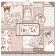 Paper Pack Stamperia - Little Girl