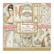 Paper Pack Stamperia - Princess