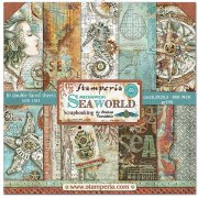 Paper Pack Stamperia - Sea World - 8x8 Tum