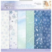 Paper Pack Vellum Crafter´s Companion - Glittering Snowflakes
