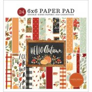 Paper Pad Carta Bella - Hello Autumn - 6x6 Tum