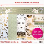 Paper Pad Craft Smart - Floral Romance