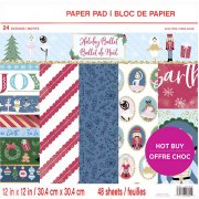 Paper Pad Craft Smart - Holiday Ballet