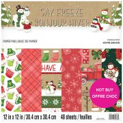 Paper Pad Craft Smith - Say Freeze - 12x12 Tum